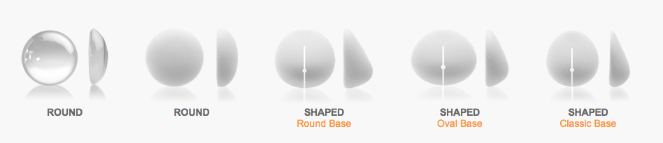 popular breast augmentation shapes